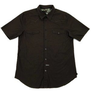 Hurley Western Style Short Sleeve Button Down